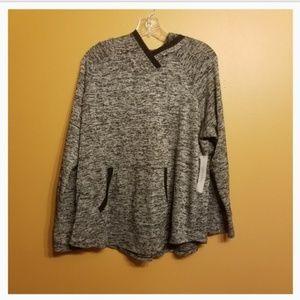 Calvin Klein |Gray Sport Hoodie/Pullover (Size 1X)